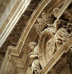 Façade de vieille église  sicilienne