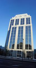 modern buildings in brussels
