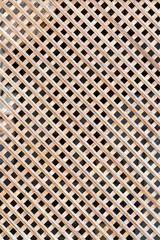 Wooden lattice, background, texture