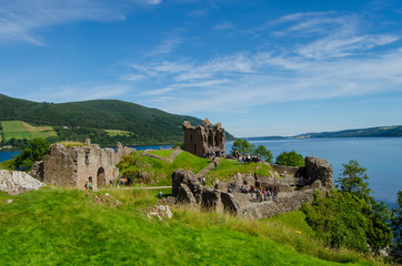 Urquhart Castle. Inverness. Scotland