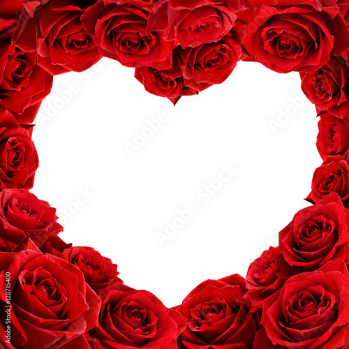 "red rose heart shape frame and flower"" stock photo and royalty, Beautiful flower"