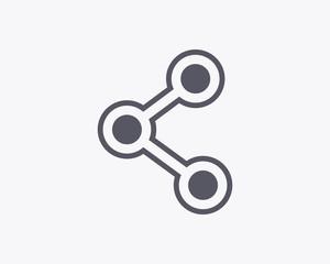 Share Icon - Vector illustration
