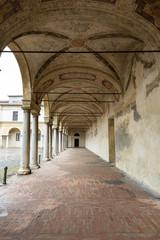 Palazzo Ducale on Piazza Castello in Mantua - Italy