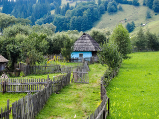 Old countryside house in Bucovina, Romania