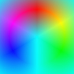 Smooth abstract rainbow gradient background