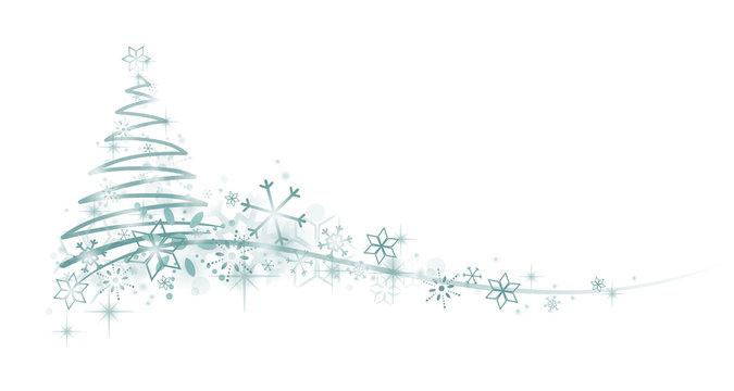 Weihnachtsbaum Schneeflocken Verzierung