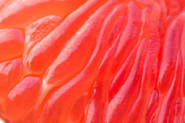 Foto op Aluminium Flamingo cleared grapefruit closeup, background