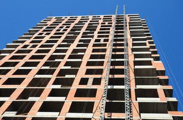 Building under Construction Site.