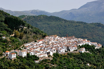mountain vilage in Andalusia Spain