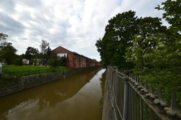 Обводной канал в городе Кронштадт