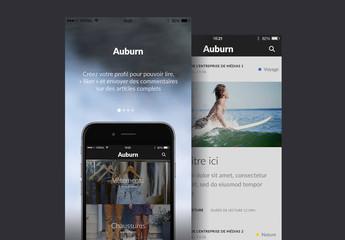 Kit d'interface utilisateur Auburn