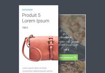 Kit d'interface utilisateur de produit de base