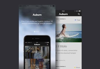 Kit per interfaccia utente Auburn