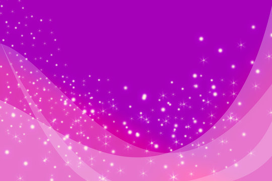 Mauve sparkle wave