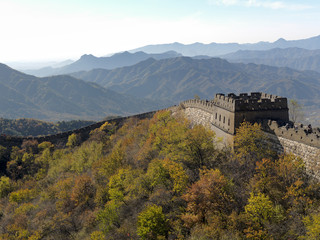 Fortification on the Great Wall of China