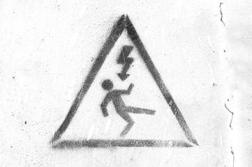 Electric signal danger