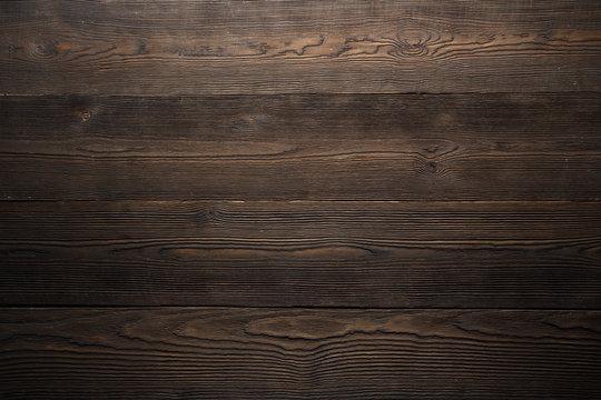 Dark wood background brown color