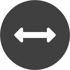 horizontal resize option icon