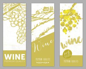 Etichetta Vino Banner