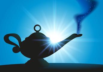 Lampe - Aladin