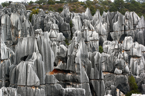 """Shilin stone forest, world-famous natural area of ..."