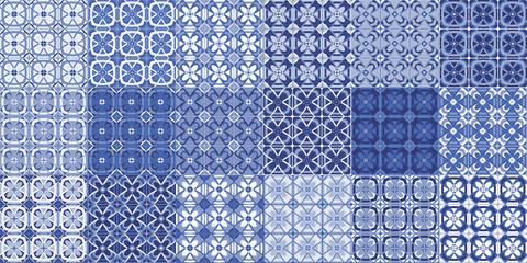 azulejos, tile template. vector
