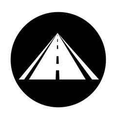 road icon illustration design