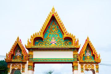 The Thai temple art of the faith in Thailand