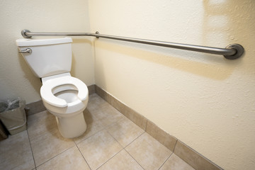 Disabled Access Toilet and Grab Bar Railing