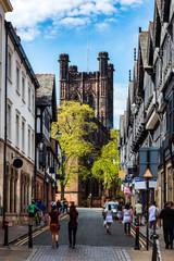 Chester city, England