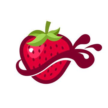 Strawberry Splash Logo icon