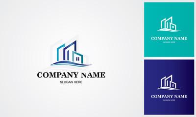line building logo