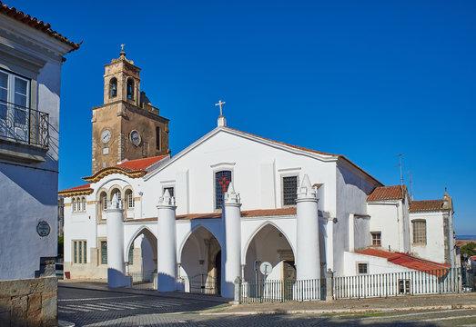 Igreja de Santa Maria church in Beja, Alentejo. Portugal.