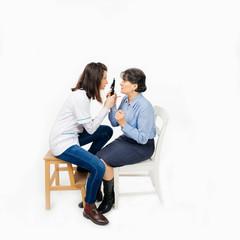 Oculist consultation