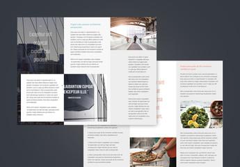 Brochures professionnelles à trois volets