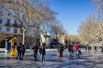 Barcelona, Les Rambles