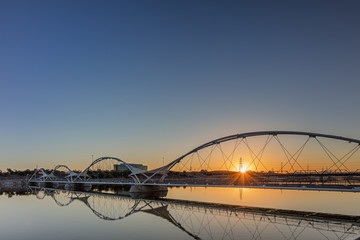 Bridge next to the Tempe Center for the Arts in Phoenix Arizona
