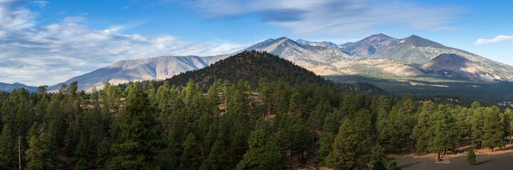 San Fransisco Peaks in Arizona