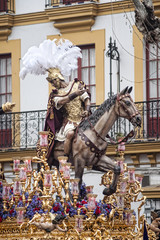 El caballo de Triana, semana santa de Sevilla