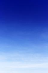 Blue sky background no cloud,soft focus