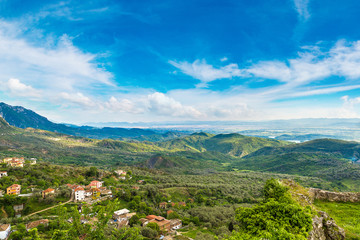 View from Kruja castle, Albania