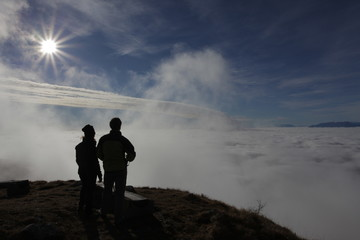 Viewing the clouds