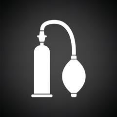 Vacuum penis machine icon