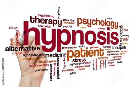 hypnosis word cloud stockfotos und lizenzfreie bilder auf bild 128934821. Black Bedroom Furniture Sets. Home Design Ideas