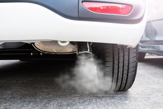 Pipe exhaust car smoke emission