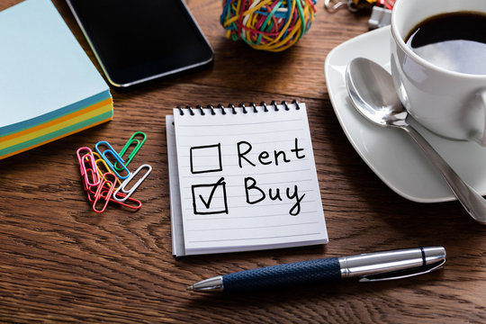 Notepad Showing Buy Or Rent Option