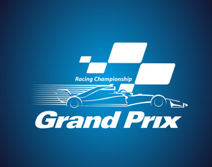 Vector Grand Prix Racing Championship logo or symbol