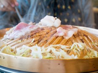 pork slide grill Korean style