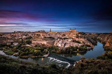 Anochecer en Toledo