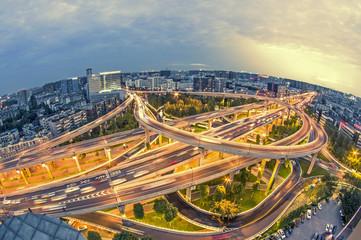 China's urban landscape of chengdu latency